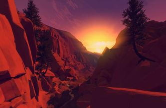 Firewatch, developed by Campo Santo
