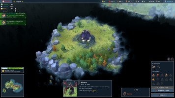A wyvern's den in Northgard. Northgard, Shiro Games