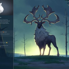 The stag clan, Eikthyrnir. (Northgard, Shiro Games)