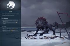 The wolf clan, Fenrir, (Northgard, Shiro Games)