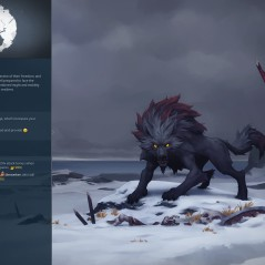 The wolf clan, Fenrir, (Northgard, Shiro Games)