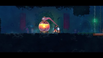 Be sure to stock up on health potions between levels! Dead Cells, developed by Motion Twin.