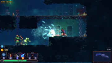 Freeze your enemies to slow them down. Dead Cells, Developed by Motion Twin.