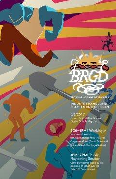 Art from JailBreak on the BRGD event poster.