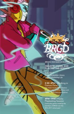 Art from Uplink: Beatdown on the BRGD event poster.